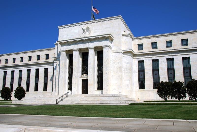 De Bouw van de federale Reserve stock afbeeldingen