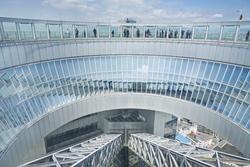 De Bouw van de Hemel van Umeda in Osaka, Japan royalty-vrije stock foto