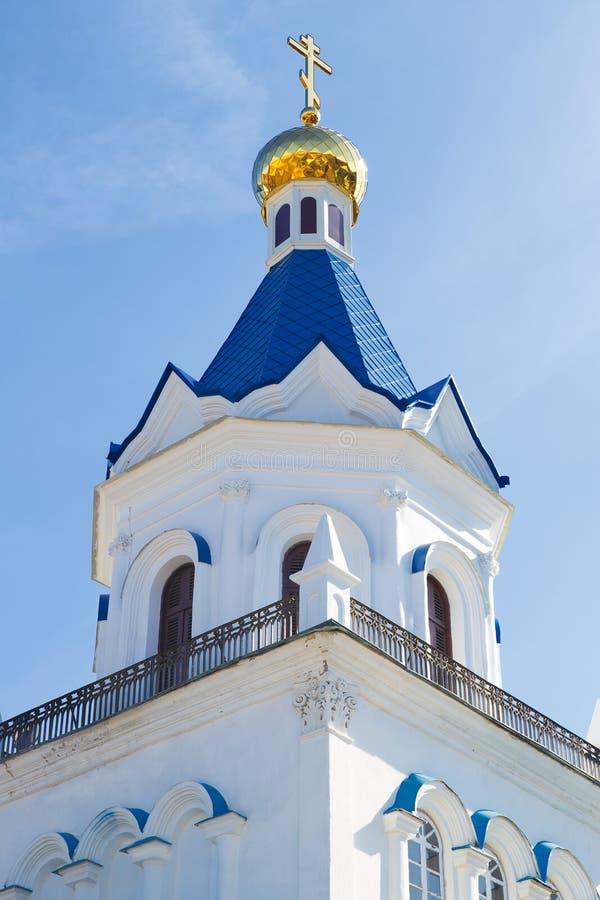 De bouw van de kerkgodsdienst royalty-vrije stock afbeeldingen