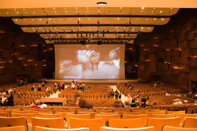 De bouw van de opera royalty-vrije stock foto