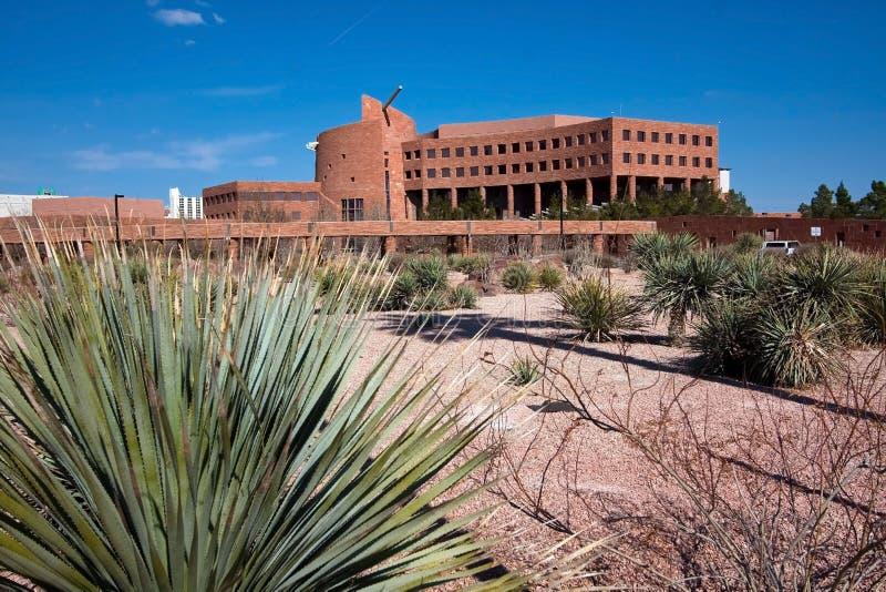 De bouw van de Overheid van de Provincie van Clark, Nevada royalty-vrije stock afbeeldingen