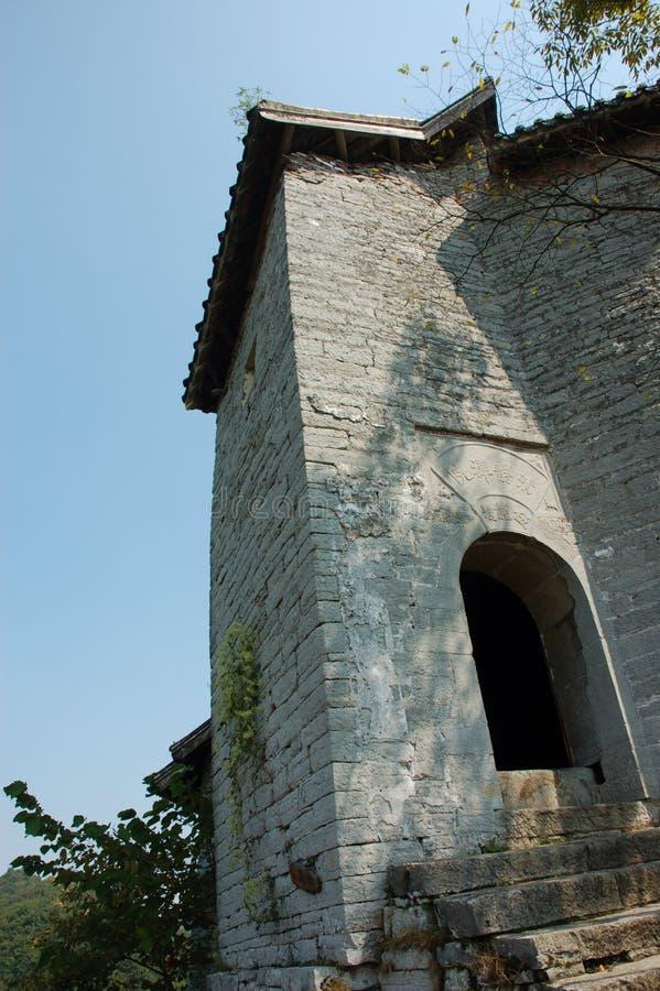 De bouw van de steen royalty-vrije stock afbeelding