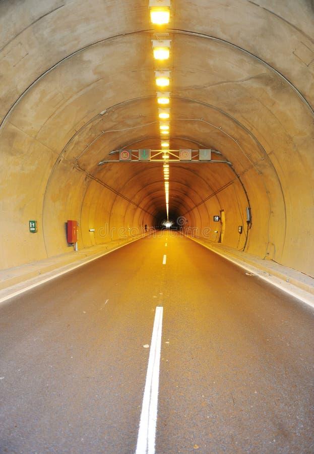 De bouw van de tunnel royalty-vrije stock foto's