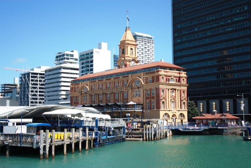 De Bouw van de Veerboot van Auckland royalty-vrije stock afbeelding
