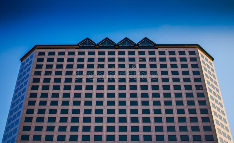 De Bouw van het bedrijfbureau royalty-vrije stock fotografie