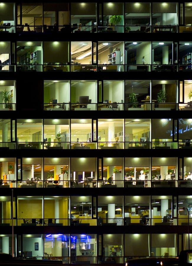 De bouw van het bureau vensters   royalty-vrije stock fotografie