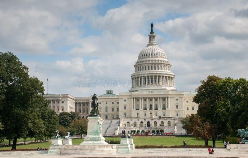 De bouw van het Capitool van de V Verenigde Staten stock foto's