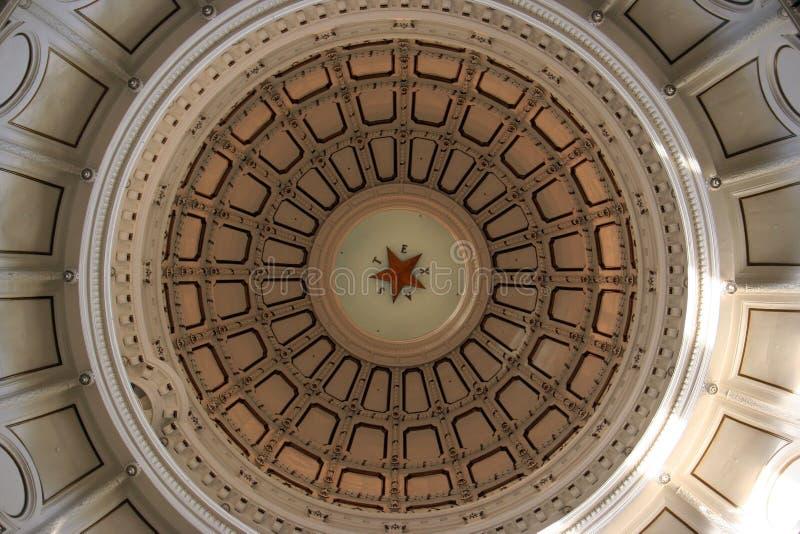 De Bouw van het Capitool van de staat in Austin van de binnenstad, Texas royalty-vrije stock afbeeldingen