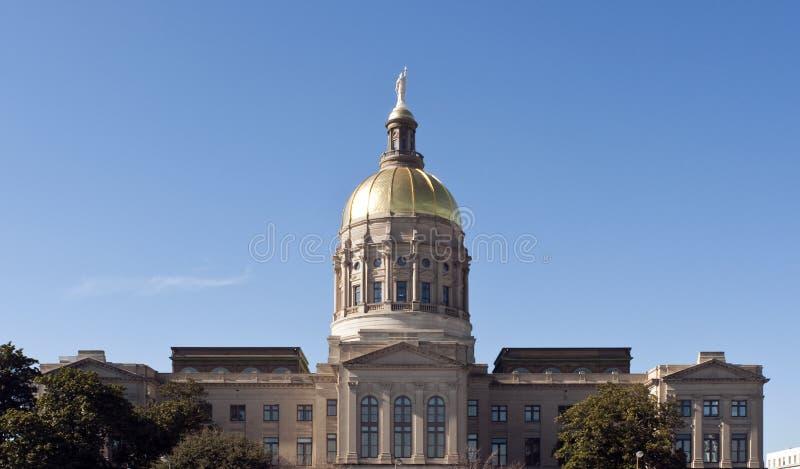 De Bouw van het Capitool van de Staat van Georgië stock foto