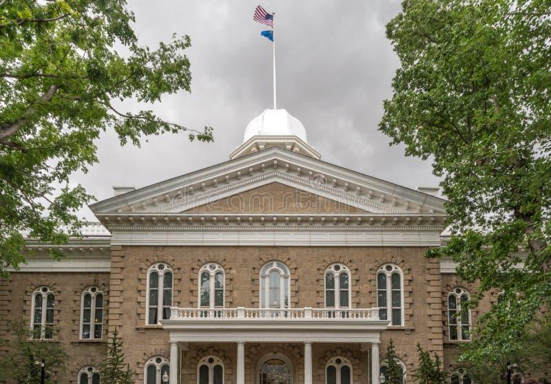 De Bouw van het Capitool van de Staat van Nevada royalty-vrije stock fotografie