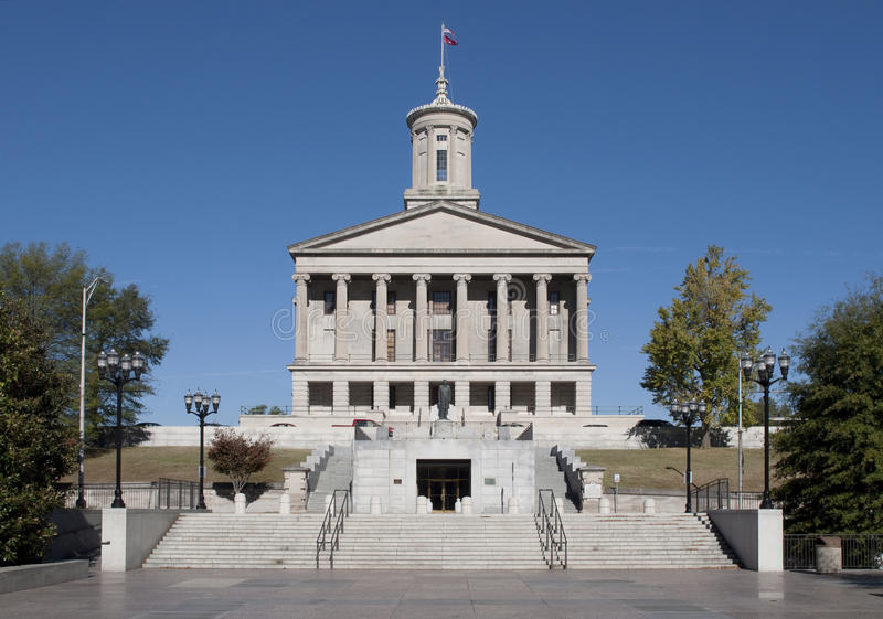 De Bouw van het Capitool van de Staat van Tennessee royalty-vrije stock foto's