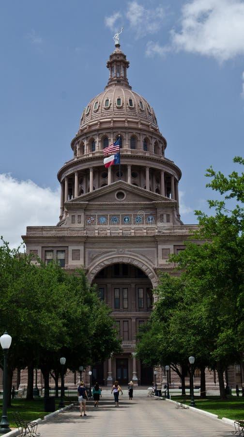De bouw van het Capitool van de Staat van Texas royalty-vrije stock foto