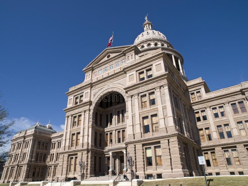 De bouw van het Capitool van de Staat van Texas royalty-vrije stock fotografie