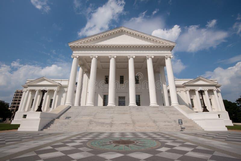 De Bouw van het Capitool van de Staat van Virginia royalty-vrije stock foto's