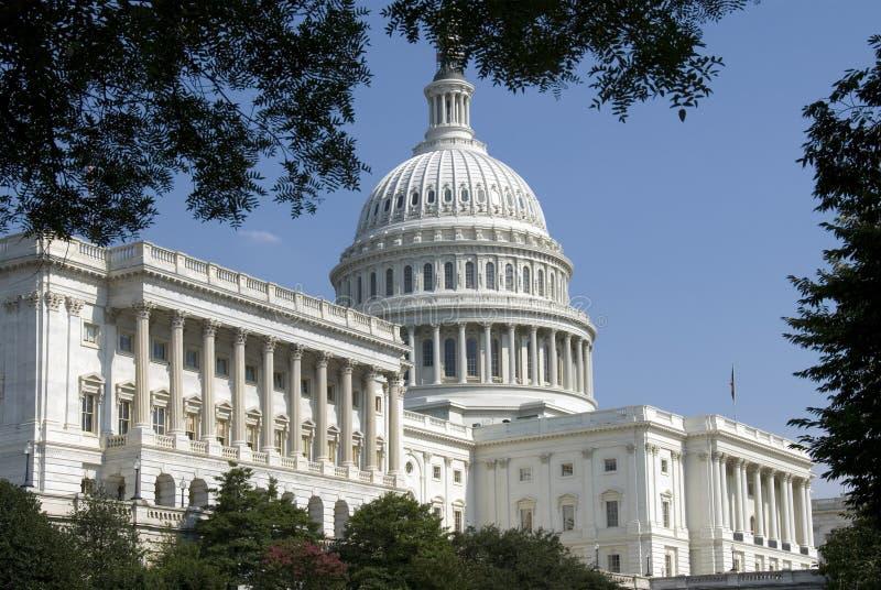 De Bouw van het Capitool van de V.S. stock afbeelding