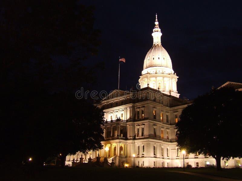De Bouw van het Capitool van Michigan royalty-vrije stock fotografie