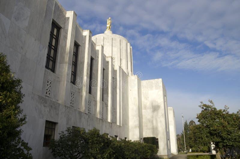 De Bouw van het Capitool van Oregon stock afbeeldingen