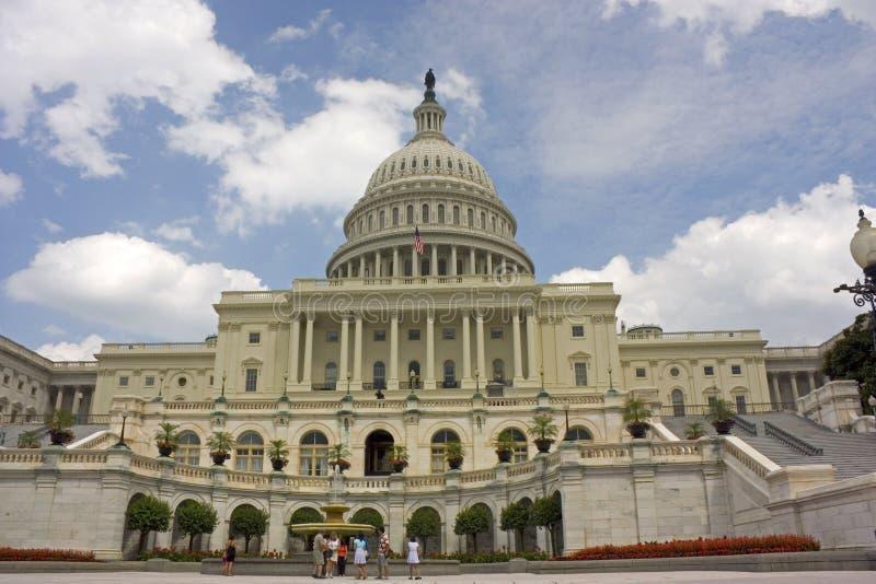 De bouw van het Capitool van Verenigde Staten royalty-vrije stock foto