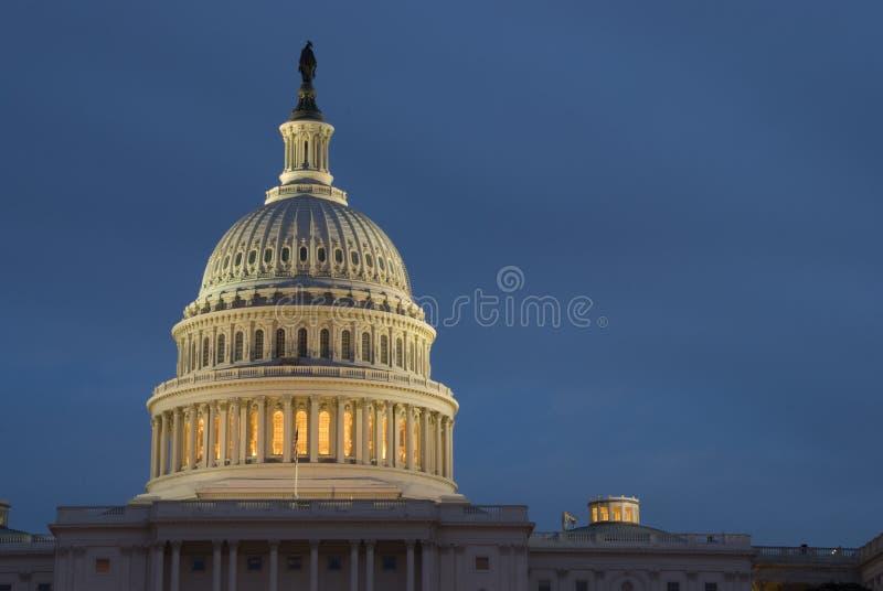 De Bouw van het Capitool van Verenigde Staten royalty-vrije stock afbeelding