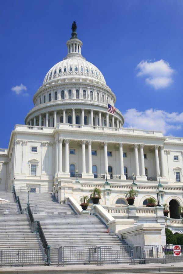 De Bouw van het Capitool in Washington DC royalty-vrije stock foto