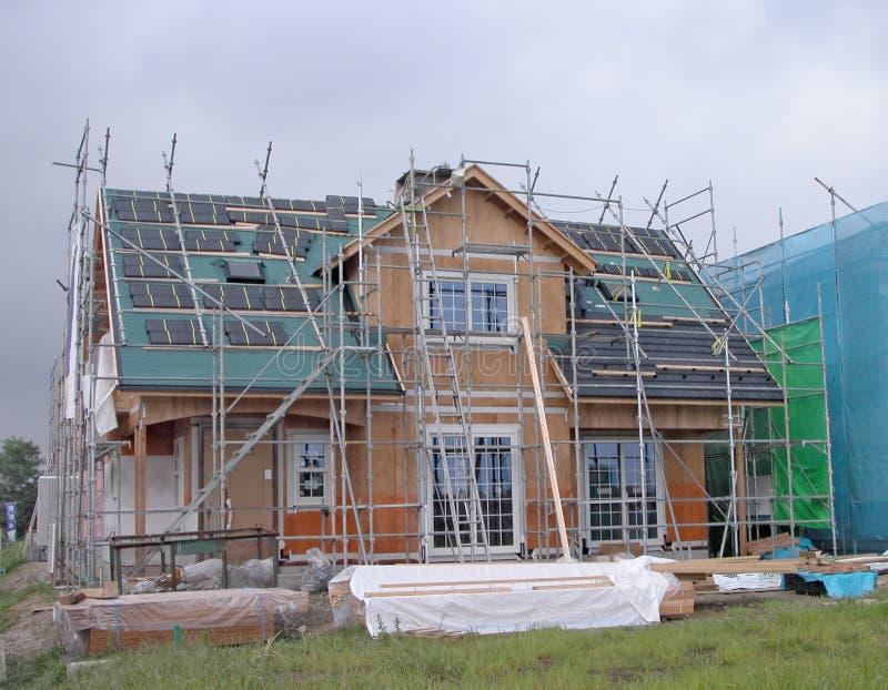 De bouw van het huis royalty-vrije stock afbeeldingen