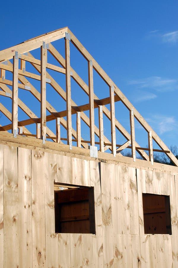 Download De bouw van het huis stock afbeelding. Afbeelding bestaande uit baan - 47107