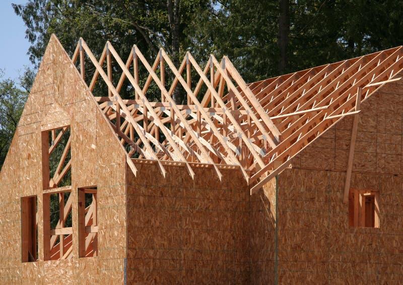 De bouw van het huis royalty-vrije stock foto