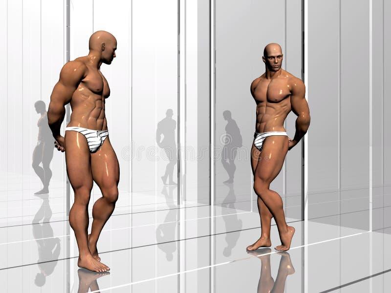 De bouw van het lichaam, levensstijl. vector illustratie