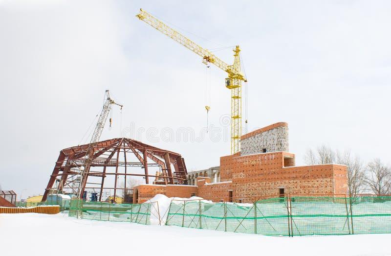 De bouw van het project royalty-vrije stock foto's