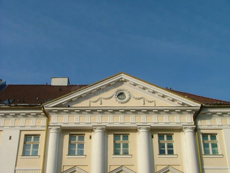 De bouw van het stadhuis royalty-vrije stock foto