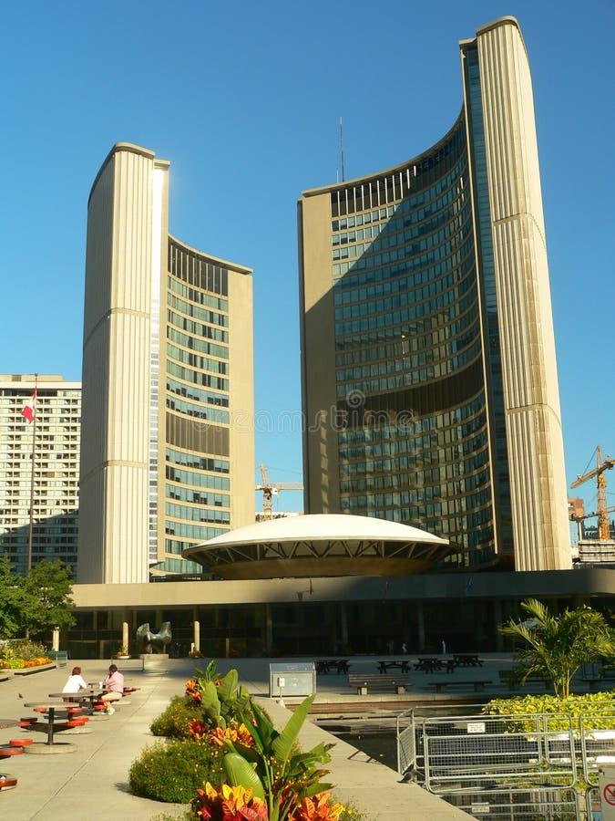 De Bouw van het stadhuis in Toronto-Canada stock foto