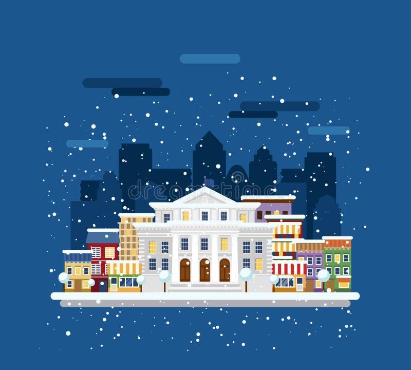 Download De Bouw Van Het Stadsbeleid Vector Illustratie - Illustratie bestaande uit modern, voorwerp: 54089132