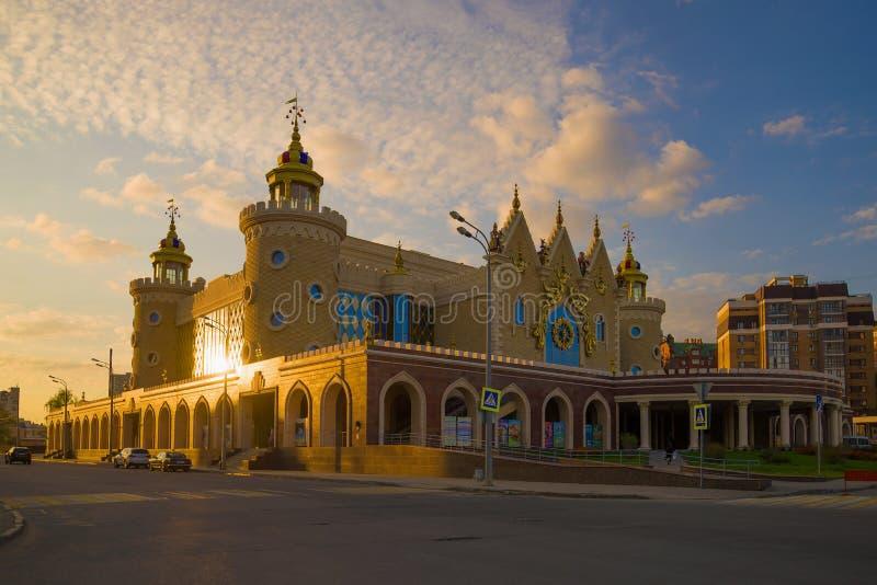 De bouw van het Tatar Poppentheater 'Ekiat 'van de Staat royalty-vrije stock foto's