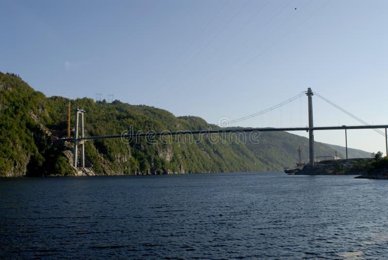 De bouw van het viaduct royalty-vrije stock afbeeldingen