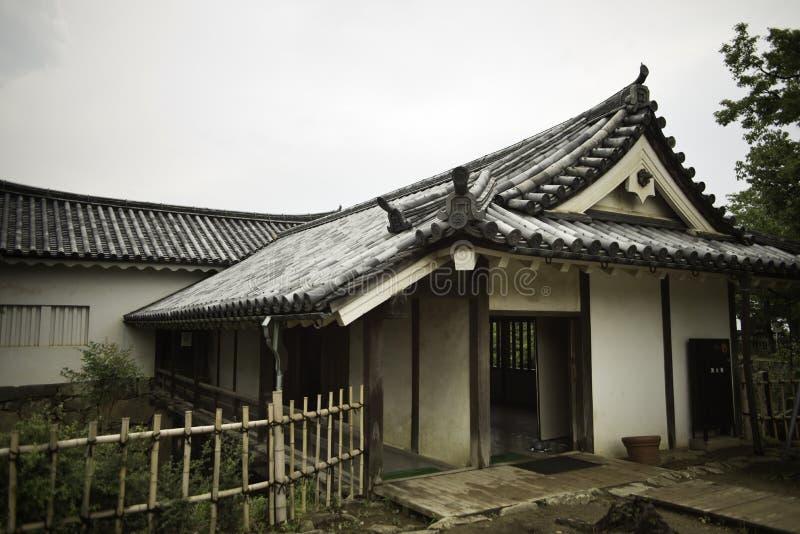De bouw van Hikone-complex kasteel royalty-vrije stock foto's