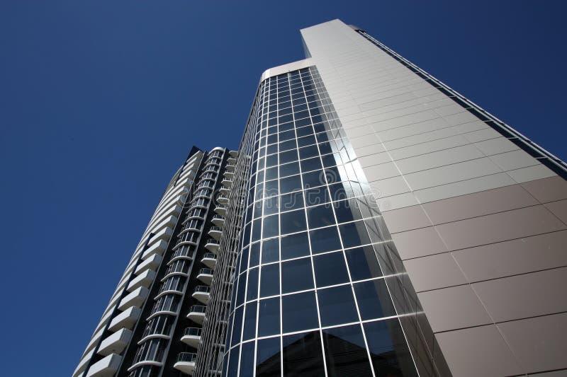 De bouw van IBM, Brisbane stock afbeeldingen