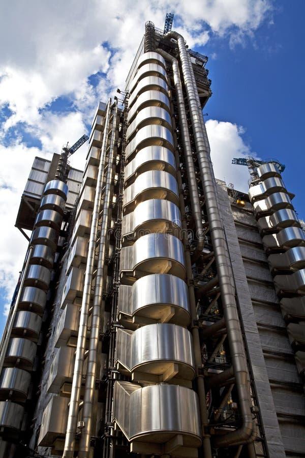 De Bouw van Lloyds in Londen stock foto's