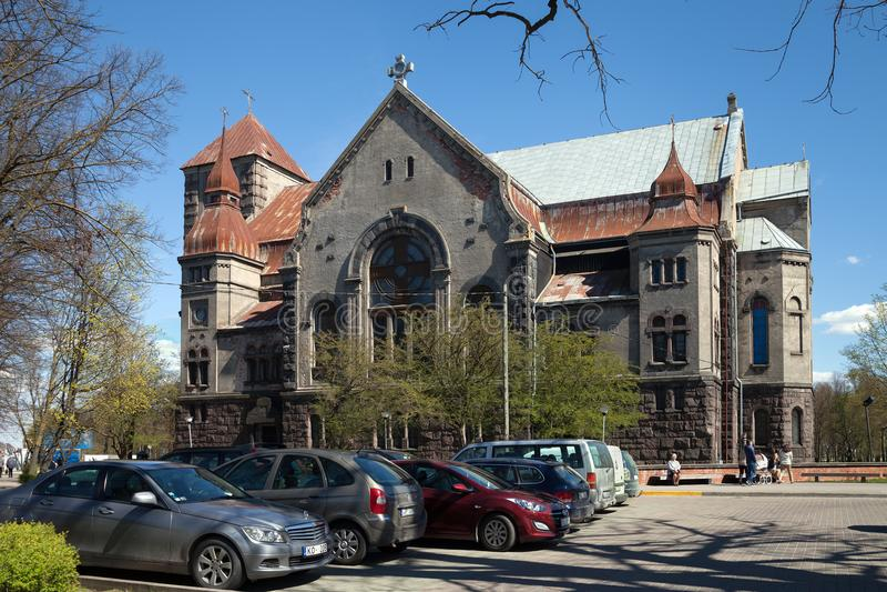 De bouw van Luther Church royalty-vrije stock afbeeldingen