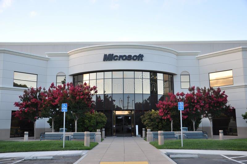 De bouw van Microsoft stock fotografie