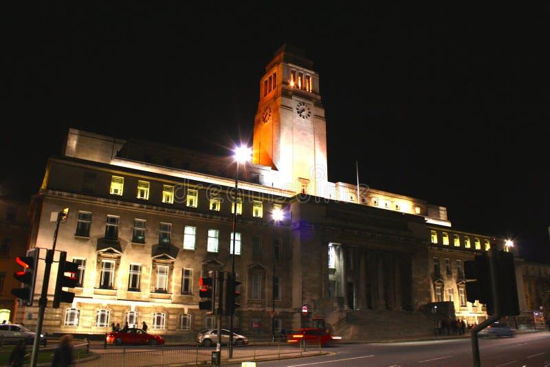 De Bouw van Parkinson, de Universiteit van Leeds stock fotografie