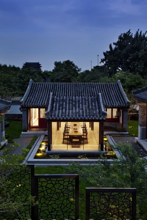 De bouw van Peking stock fotografie