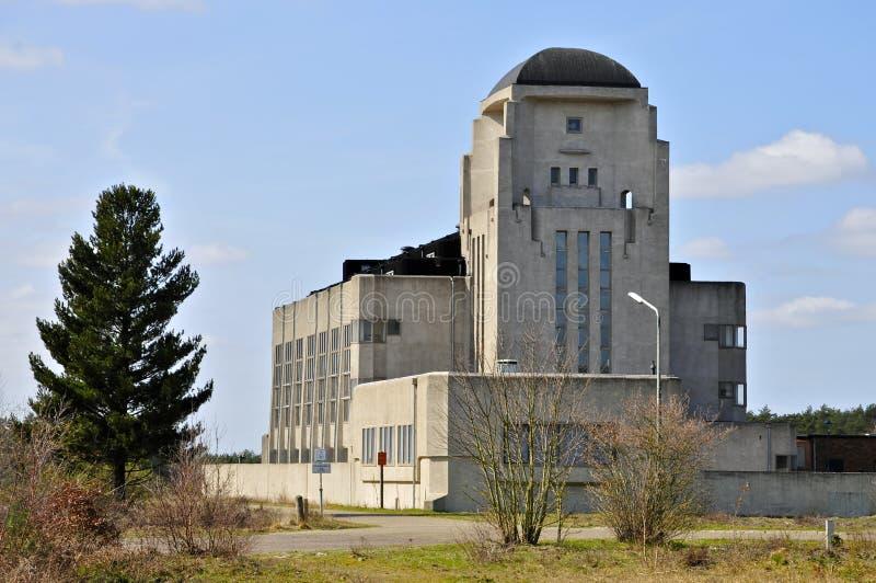 De bouw A van Radiokootwijk, Nederland stock afbeeldingen