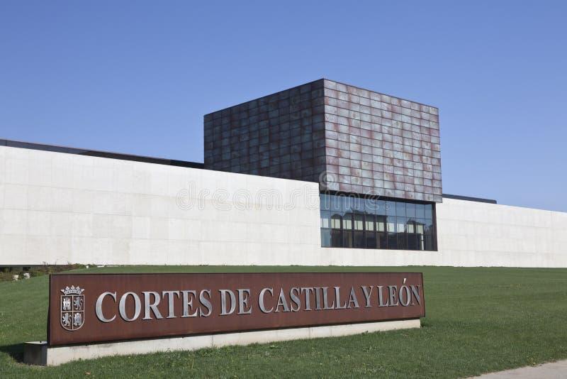 De bouw van regionale politiek van Castilla y Leà ³ n royalty-vrije stock afbeeldingen
