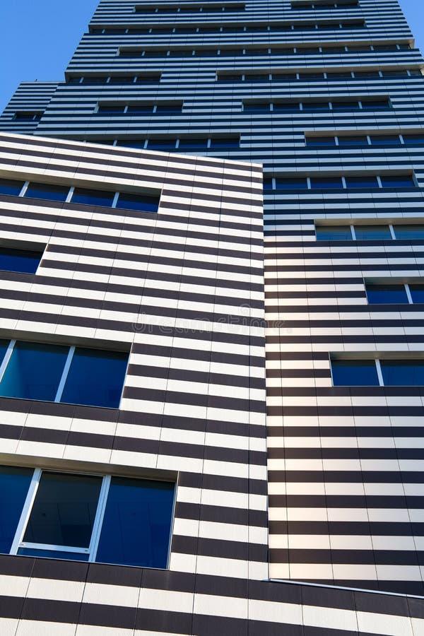 De Bouw van Siemens, het nieuwe hoofdkwartier van Genoa Siemens Italy/wolkenkrabber/de bouw/industrie/handel royalty-vrije stock fotografie