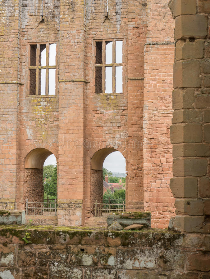 De bouw van Tudor stock foto