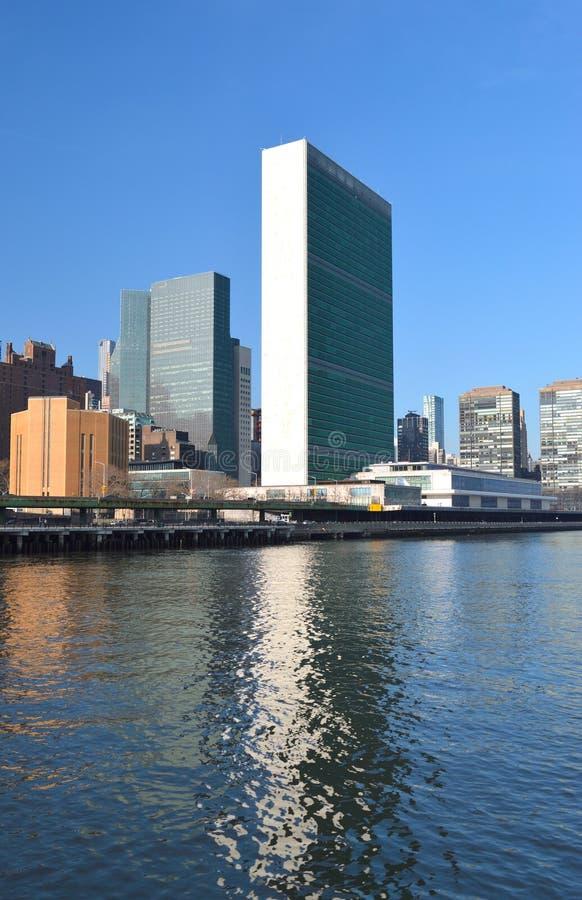 De Bouw van de Verenigde Naties royalty-vrije stock fotografie