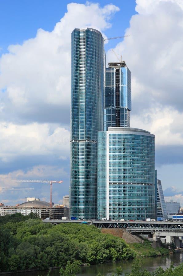 De bouw van wolkenkrabber royalty-vrije stock foto's