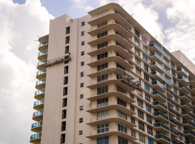 De bouw wordt hersteld in Florida royalty-vrije stock afbeeldingen