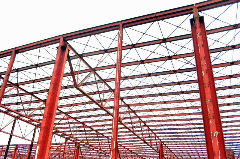 De bouwkader in aanbouw royalty-vrije stock afbeeldingen