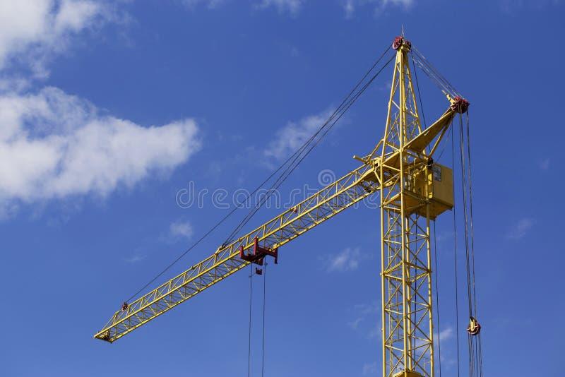De bouwkraan stock foto